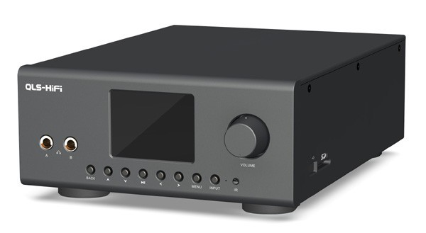 QULOOS QA860 Lecteur audio numérique DAC DSD 24 bits / 192KHz AD1995