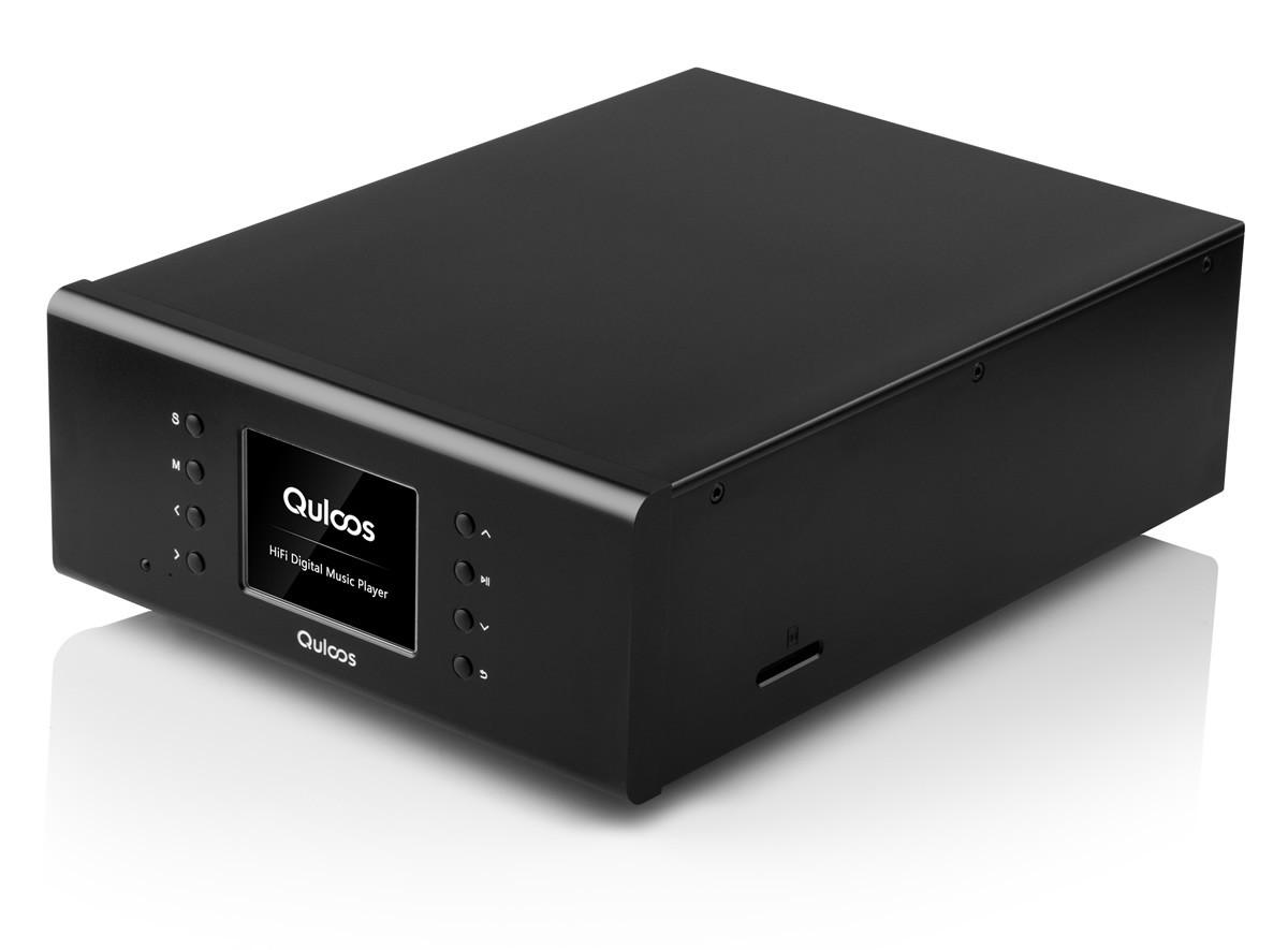 QULOOS QA661 DAP Digital Audio Player Drive AES EBU 24 bits192KHz