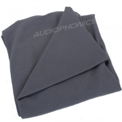 tissu acoustique gris 150x75cm
