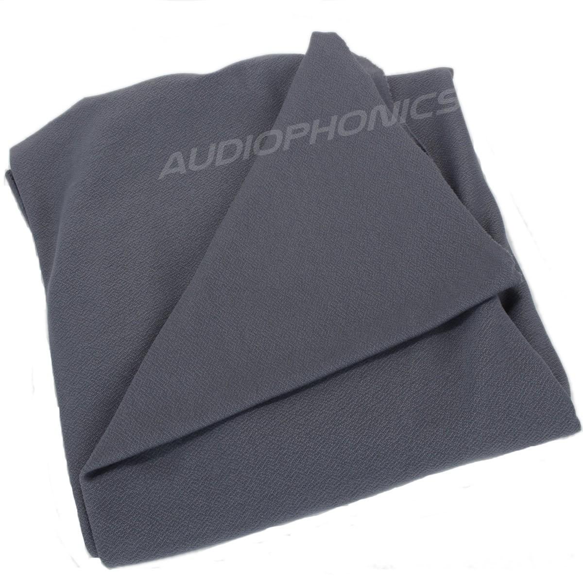 Acoustic Speaker Fabric 150x75cm Gray