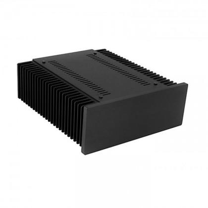 Hifi2000 MiniDissipante Chassis Heatsink 2U 250mm 10mm Black front panel