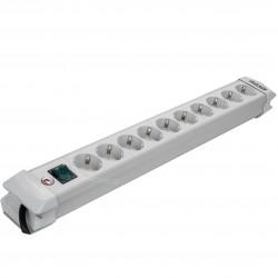 Multiprise Premium 10 prises Schuko avec interrupteur