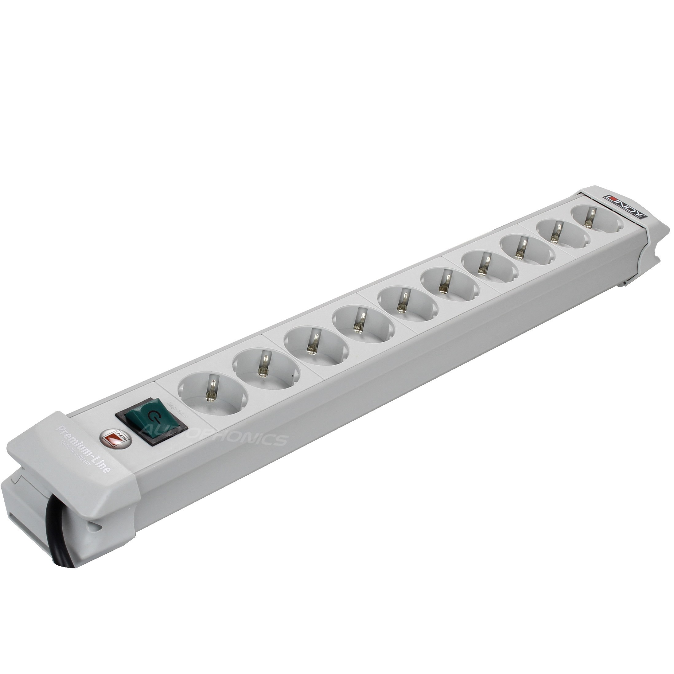 Power distribution unit Premium 10 Schuko with Power switch