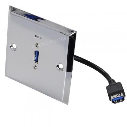 Dynavox Wall Plate USB 3.0
