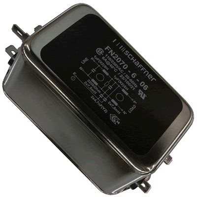 SCHAFFNER FN2070-06-06 Power Filter EMI 230V 6A