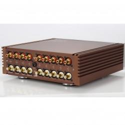 Hattor Audio Préamplificateur Passif avec Potentiomètre Commuté Télécommandé
