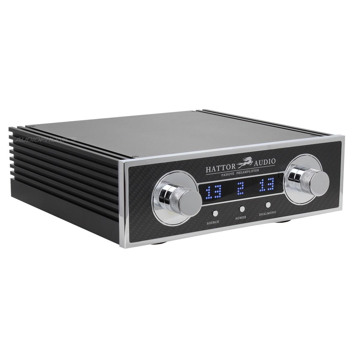 HATTOR AUDIO XLR Passive remote Preamplifier with Shunt Attenuator