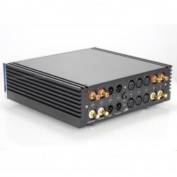 Hattor Audio Préamplificateur Passif XLR à Potentiomètre Commuté télècommande