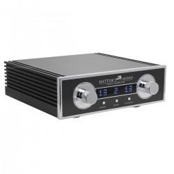 Hattor Audio Préamplificateur Passif RCA à Potentiomètre Commuté télècommande