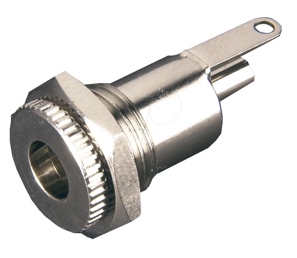Embase Jack DC 5.5mm / 2.1mm Argent