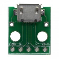 Micro USB Embase type B Femelle 5 Pin sur circuit.