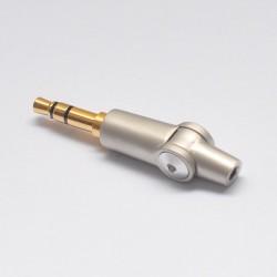 Connecteur Jack mâle 3.5mm à souder articulé
