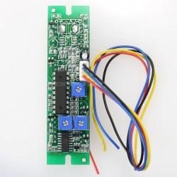bargraphe LED Double Colonne pour Affichage Tension ou Courant Continu