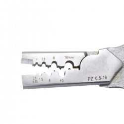 Pince à sertir embouts de câble 0.5/16mm²