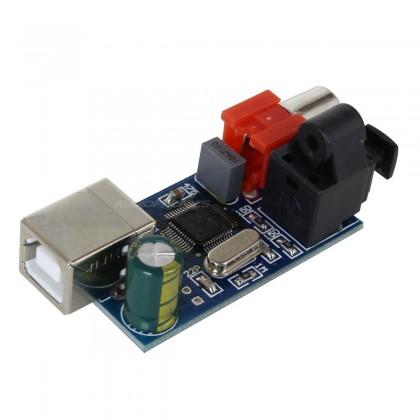 Interface Digital USB vers SPDIF I2S 16Bit/48Khz CM-108