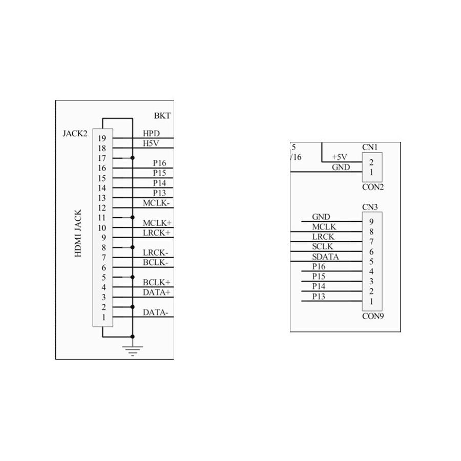 module d u0026 39 entr u00e9e i2s vers sortie hdmi i2s