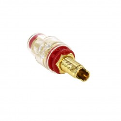 ELECAUDIO BP-205 Gold plated isolated binding post V2 (Red)