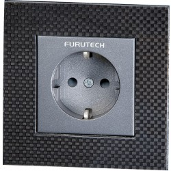 FURUTECH FT-SWS (R) Rhodium plated Schuko wall socket