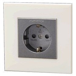 FURUTECH FP-SWS (G) Schuko wall socket Gold plated