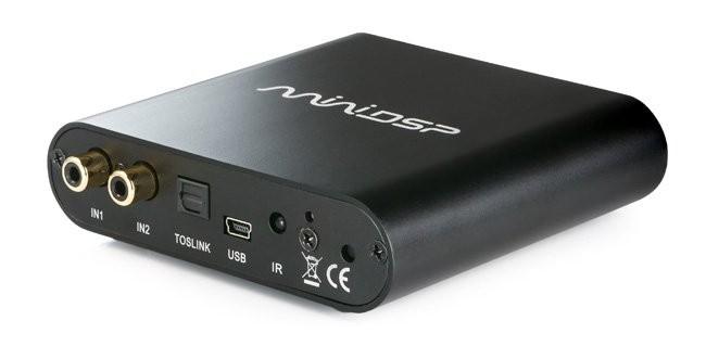 MiniDSP 2X4 HD Interface / Filtre numérique IIR / DAC 24bit 96Khz