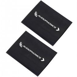 Audiophonics Gaines Thermo Rétractables 3:1 Ø25mm Pour Câbles Noir x2