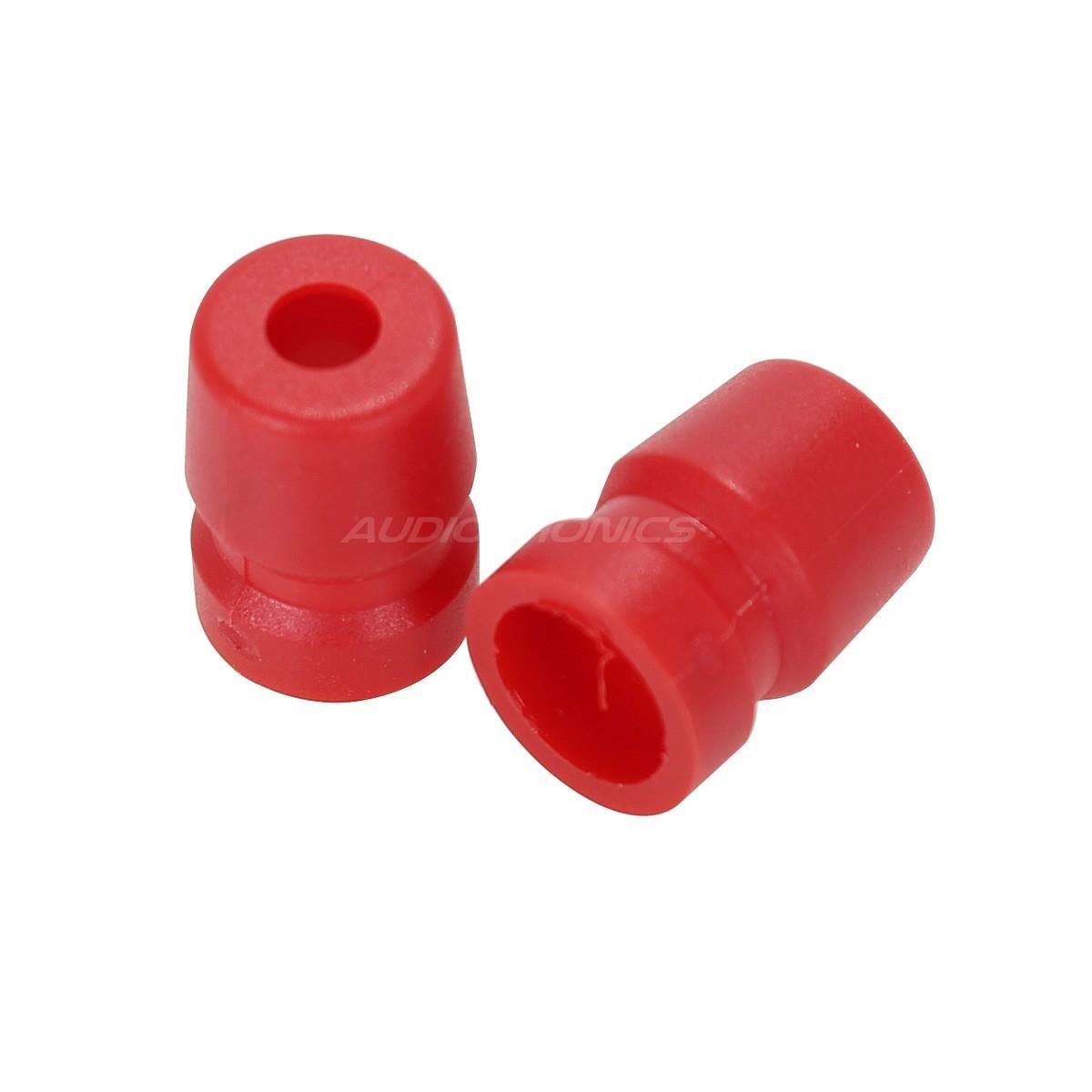 AC XLR RED Grommet for XLR Amphenol Plug 3 PIN