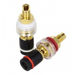 ELECAUDIO BP-209 24K Gold Plated Binding Post Ø19mm (Pair)
