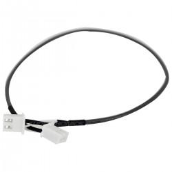 Câble XH 2.54mm Femelle / Femelle 2 connecteurs 2 Pôles 20cm (Unité)