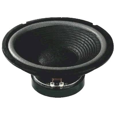 MONACOR SP-252E Haut-parleur de grave médium 4 Ohm Ø 25cm (unité)