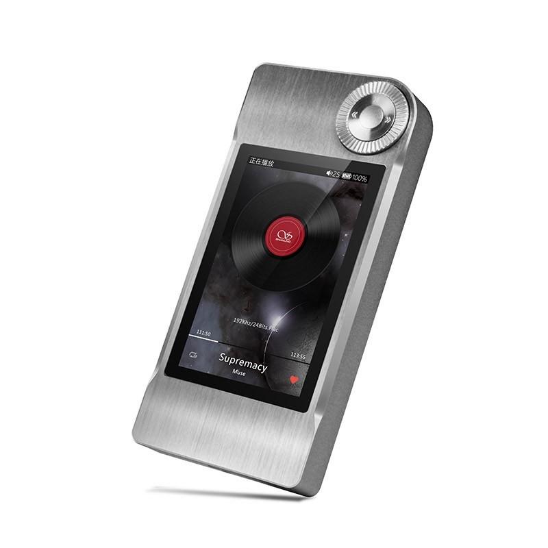 SHANLING M5 Digital Audio Player 24/192khz AK4490 Silver