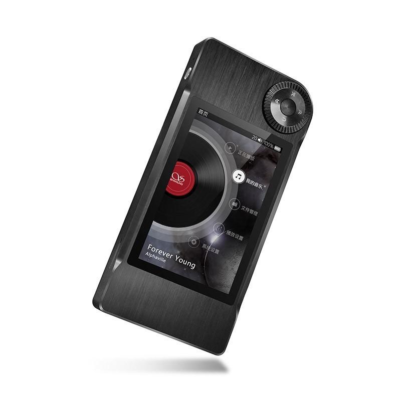 SHANLING M5 Baladeur numérique DAP 24bit/192Khz AK4490 Noir