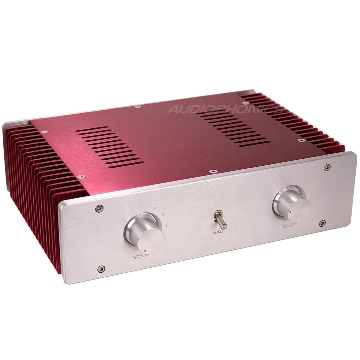 Boitier DIY Amplificateur Intégré 100% Aluminium 300x211x80mm