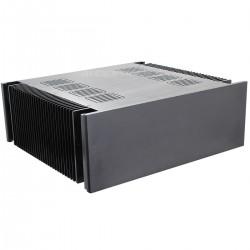 Boitier DIY Amplificateur de Puissance 100% Aluminium 432x390x150mm