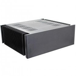 DIY Box / Case Power Amplifier 100% Aluminium 432x390x150mm