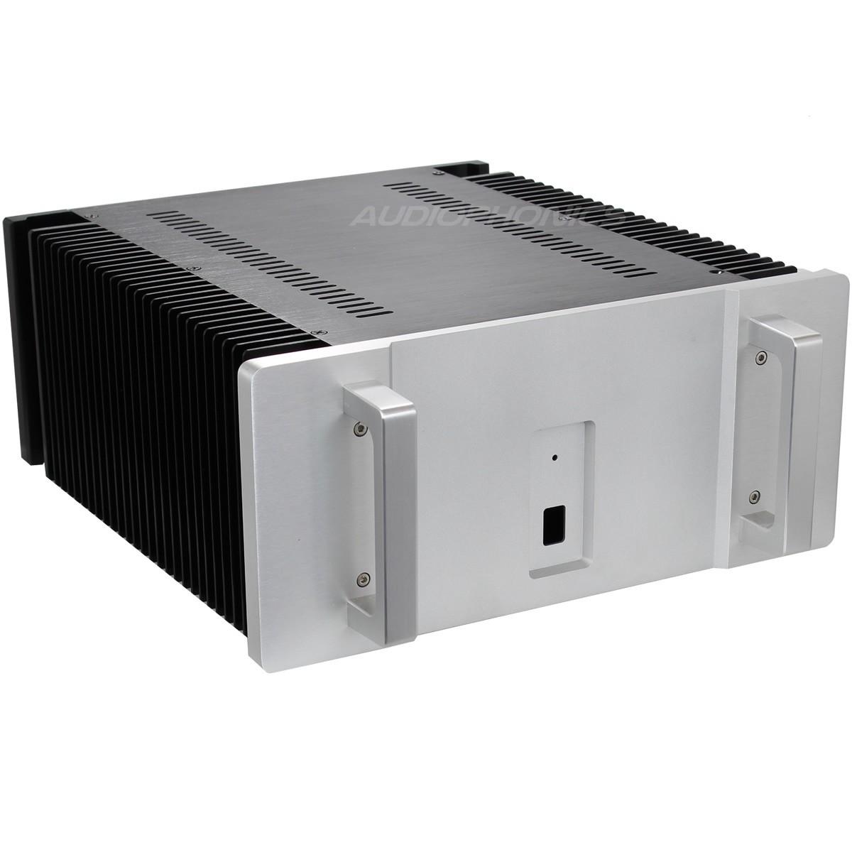Boitier DIY Amplificateur de puissance 100% Aluminium 361x274x85mm