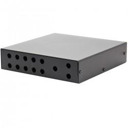 Audiophonics Boîtier Sélecteur de sources passif Silver 185 x 184 x 44 mm