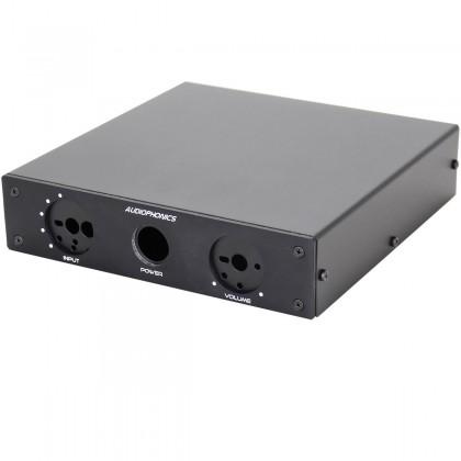 Audiophonics Boîtier préamplificateur passif 185 x 184 x 44 mm