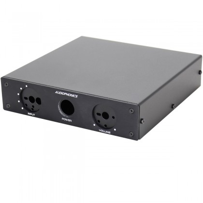 Audiophonics Box Preamplifier Silver 185 x 184 x 44 mm