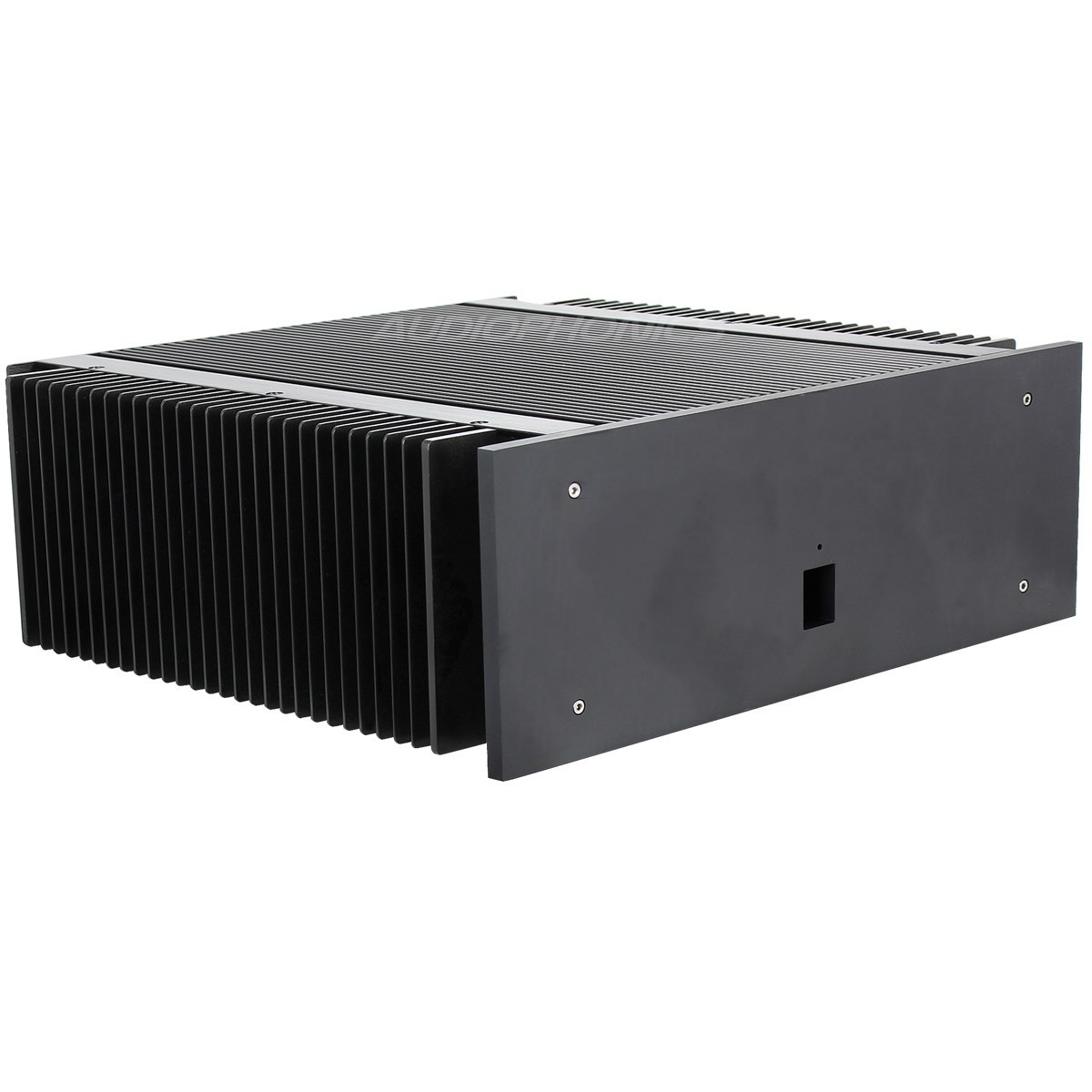 DIY Box / Case Power Amplifier 100% Aluminium 400x374x150mm