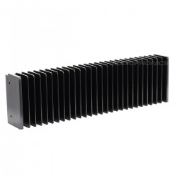 Heat Sink Radiator Black Anodized 300x85x50