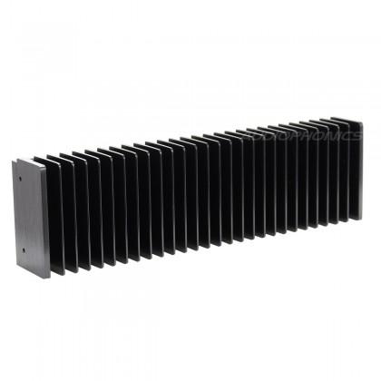 Heat Sink Radiator Black Anodized 300x85x50