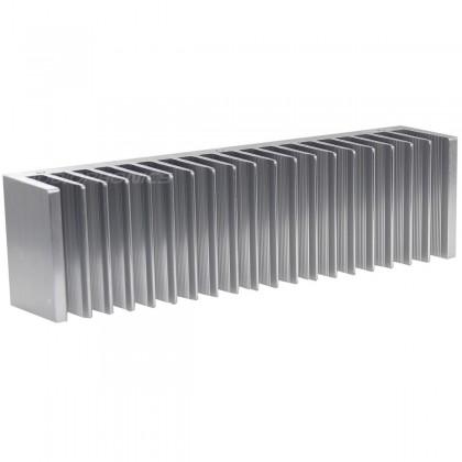 Radiateur Dissipateur Thermique Anodisé 200x72x40 Silver