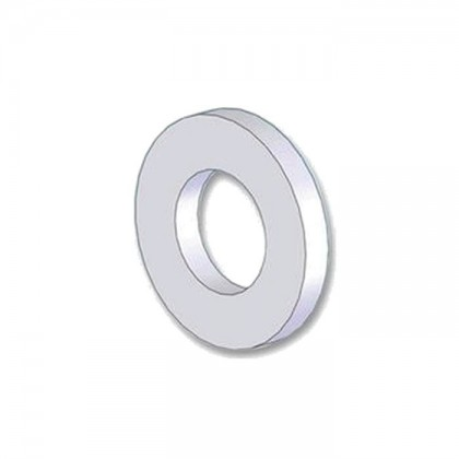 Rondelle plate Nylon M14 x 1.2mm (x10)