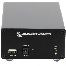 Audiophonics Alimentation Linéaire régulée 5V 2A 15VA avec USB