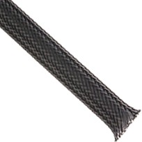 Braided sleeve 05-15mm Carbon 7.75m