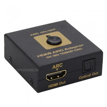 Adaptateur HDMI / HDMI ARC et Optique