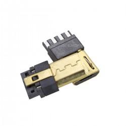 Connecteur Micro USB Type B mâle DIY plaqué Or