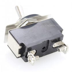 Interrupteur à bascule type Aviation 1 pôle 250V 10A