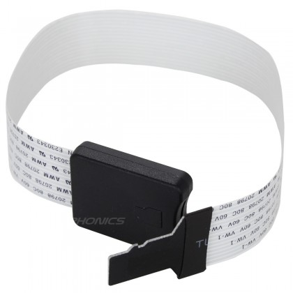 Rallonge Micro SD Mâle vers Micro SD Femelle 25cm