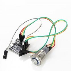 AUDIOPHONICS PI-SPC V2 Module de contrôle Alimentation Type ATX pour Raspberry Pi